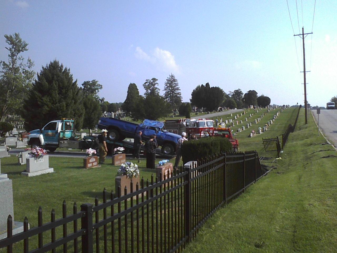 Overturned Truck In Cemetery #2 - 8-27-2009.jpg