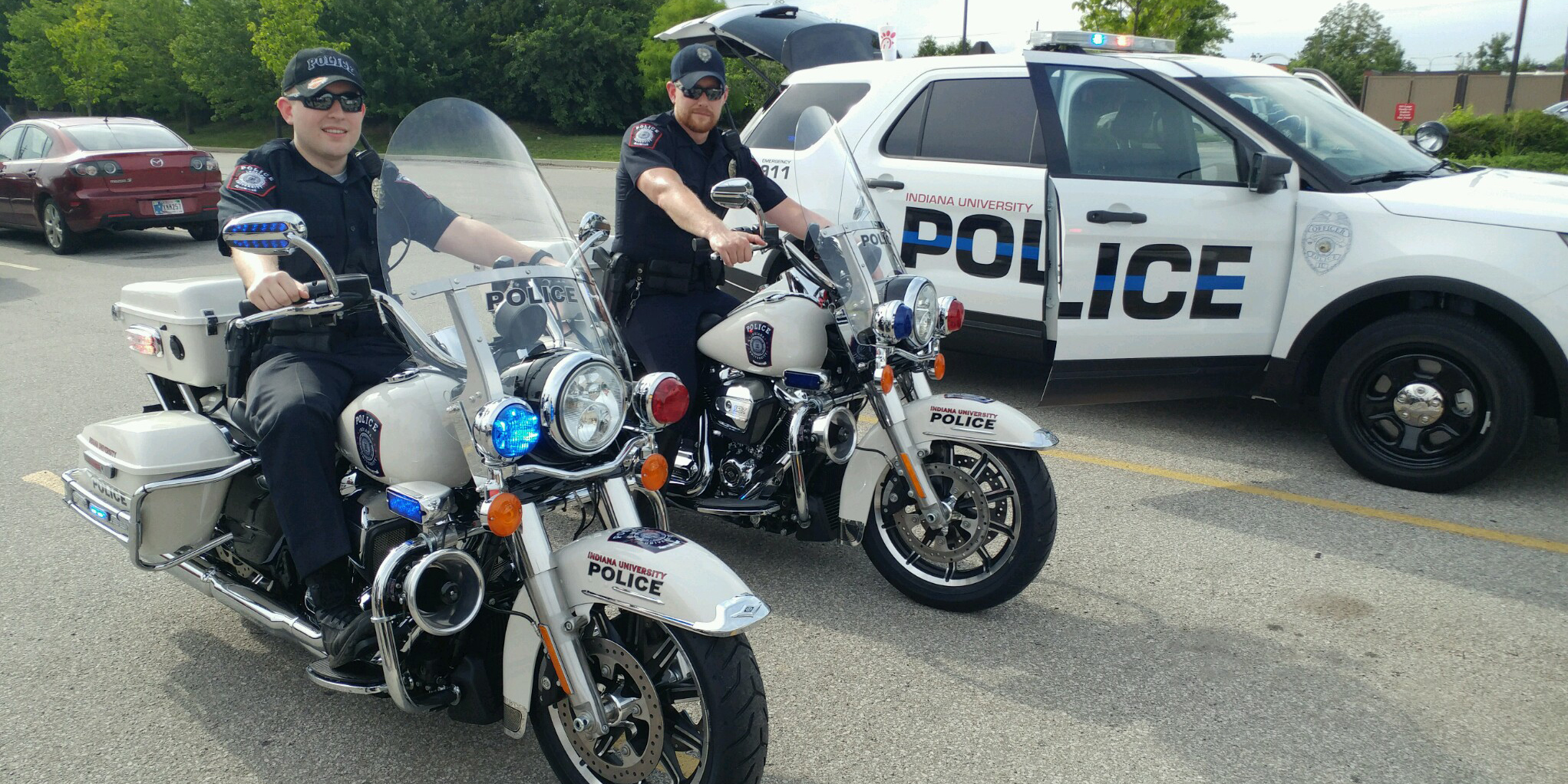 Indiana university police begin motorcycle patrols on for Bureau of motor vehicles bloomington indiana
