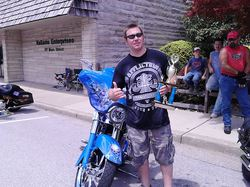Best Bike Winner Curtis Marsh with his 2006 Harley Davidson.jpg