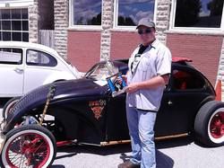 DJ Choice Winner Chad Fish with his unique 1968 Volkswagen Beetle.jpg