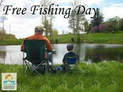 This weekend residents can fish free dnr has new on line for Do you need a fishing license