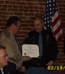 Master Trooper Mark Raper receives award.jpeg