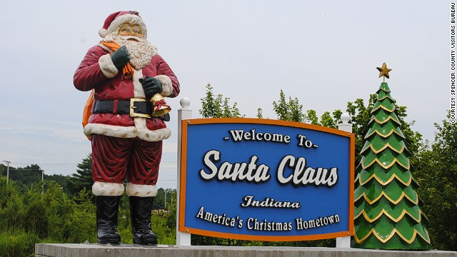 Santa claus named on cnn 39 s 12 best places to spend for Places to visit during christmas in usa