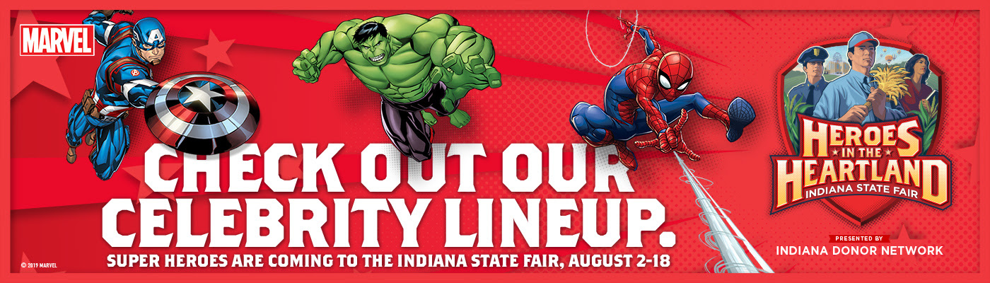 Favorite Super Heroes Taking Over 2019 Indiana State Fair – WBIW
