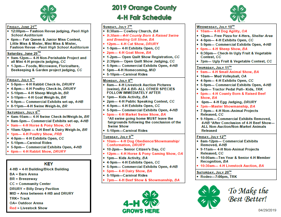 Hoosier Uplands Area XV Hosting Senior Day at Orange County