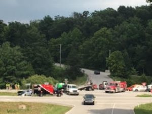 Two Injured in Accident at State Road 37 and Washboard Road