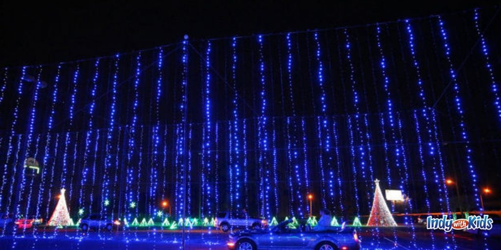 New Drive-Through Christmas Lights Show Coming to Indiana State Fairgrounds & Event Center – WBIW
