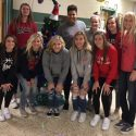 Bedford- North Lawrence High School Girls Basketball Team Reads To Lincoln Elementary School Students