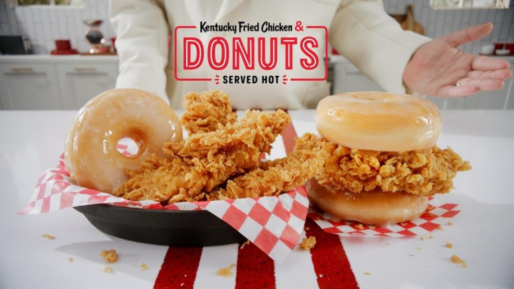 Kfc Offering Fried Chicken And Donuts Combos Nationwide Wbiw