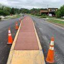 Kirkwood Pedestrian Enhancement Project Progress, Paving/Concrete Updates