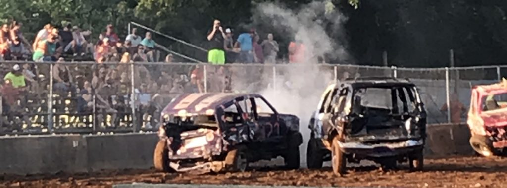 Demolition Derby Brought Fun And Excitement Saturday At Lawrence County 4 H Fairgrounds Wbiw
