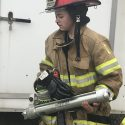 Local women take firefighter training course